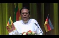HE Speech   Garman Sri Lankan's Meets 1