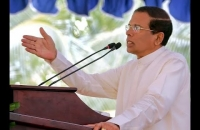 """President Maithripala Sirisena Speech - """"Govi Muluwayi - Jana Suwayayi"""""""