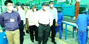 Chinese global battery brand aims for India through Lanka factory