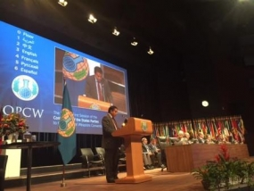 Sri Lanka calls for measures to address the menace of chemical terrorism