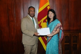 UNFPA country representative presents credentials to Foreign Minister