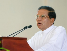 President assures to eradicate drugs from the country