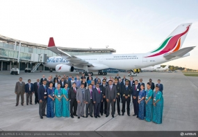 SriLankan Airlines receives first of six new A330-300 on order