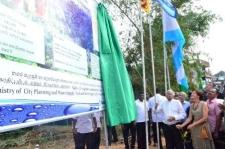 Hemmathagama water scheme opened