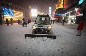 Strong Winter Storm Hit Northeast USA