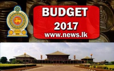 BUDGET SPEECH – 2017 by Finance Minister Ravi Karunanayake