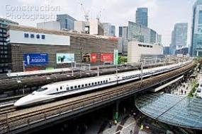 Fastest train ride in Japan