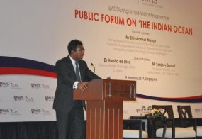 """""""Sri Lanka's Role in the Indian Ocean and the Changing Global Dynamic"""""""