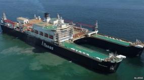 World's biggest work ship Pieter Schelte sets sail for Rotterdam