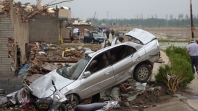 China weather: Tornado and hail kill scores in Jiangsu