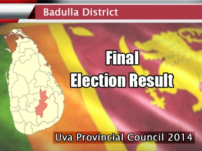 Uva Provincial Council Elections: UPFA claims victory in Badulla District