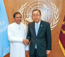 Ban Ki-moon commend President's commitment to good governance and reconciliation