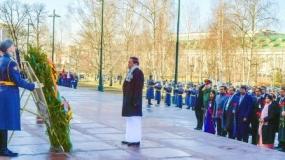 Kremlin Guard of Honour for President Maithripala Sirisena