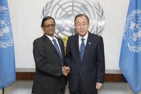 Dr.Rohan Perera New Envoy to UN presents credentials