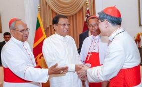 President praises the services rendered by the Catholic Church for social upliftment