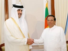 Emir of Qatar and Sri Lankan President  holds bilateral consultations
