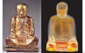 1,000-year-old mummy found in Buddha statue