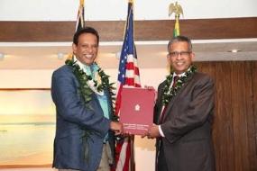 New Honorary Consul for Sri Lanka in Hawaii