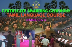 Jaffna Soldiers Receives Tamil Language Proficiency Certificates