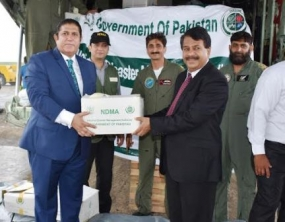 Third Pakistani cargo plane carrying flood reliefs arrived