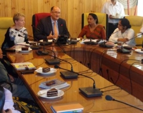 Special discussion with EU Envoy to strengthen rural development