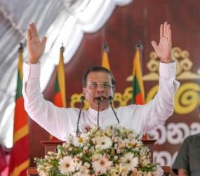 Sri Lanka to limit the term of Presidency to 5 yrs - President