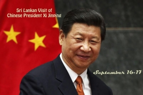 Chinese President Xi Jinping arrives today