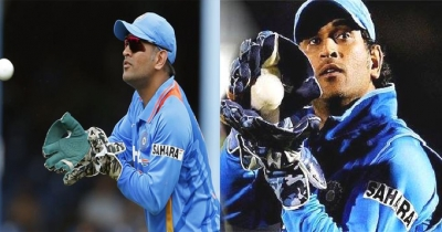 Dhoni equals Sangakkara's record of most stumpings in international cricket