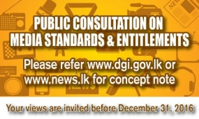 Media standards and entitlements: Deadline extended to January 31