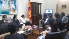Deputy Foreign Affairs Minister meets an MCC team