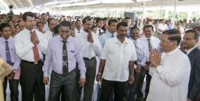 Government officials' respectful support is expected to take the country forward – President