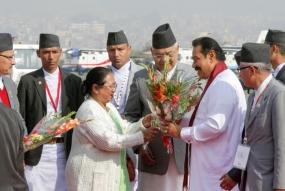 President Arrive in Nepal