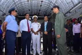 India lends a helping hand to Sri Lanka