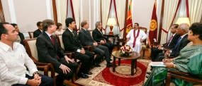 New Heads of Mission Present Credentials to President; Express Condolences on Koslanda Landslide