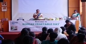 KOPIA hosted the Kimchi Workshop in Nuwara Eliya