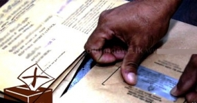Distribution of official poll cards begins
