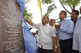 Galle fisheries harbor new jetty project commences