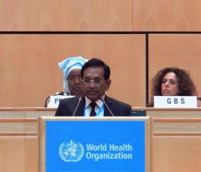 Rajitha says Sri Lanka set  to achieve nearly all the MDGS by end 2015