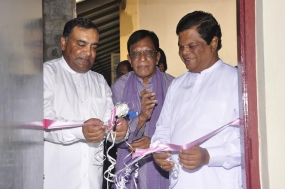 Inauguration of Language Lab set up by India in Kandy