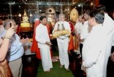 PM at Gangarama Nawam Perehera Ceremony