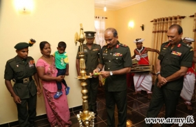 New houses gifted for two  outstanding Army Sportsmen