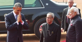 Obama says it's 'a great honour' to be back in India