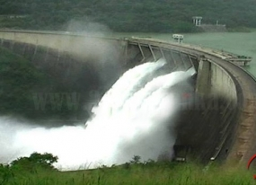 Spill Gates of several reservoirs opened