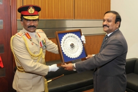 New Army Commander calls on Defence Secretary