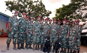 Second Sri Lanka Army coningent to leave for Nepal today