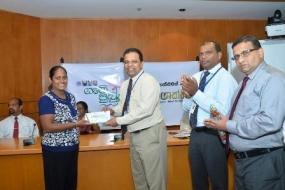 HNB disburses loans under 'Swashakthi' Million Jobs Program