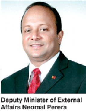 External Affairs Deputy Minister addresses Asia Pacific Business Forum in Colombo
