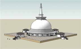 Sandahiru Stupa Sacred Relics Depositing Ceremony tomorrow