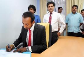 Danushka Ramanayake assume duties as Working Director of ITN