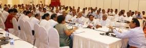 President meets Representatives of Fishermen Associations